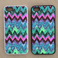Cute Abstract Chevron iPhone Case, iPhone 5 Case, iPhone 4S Case, iPhone 4 Case - SKU: 155