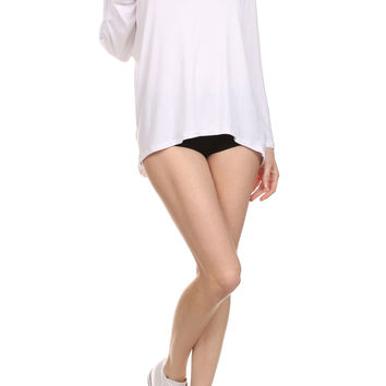 POPSOFT Dolman Top - White