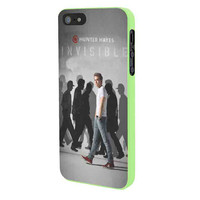 Hunter Hayes Invisble iPhone 5 Case Framed Green