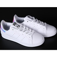 Adidas clover classic tide brand fashion shell shoes laser tail F