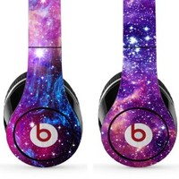 Skin Kit for Studio Beats By Dr. Dre - Includes 2 Designs - (Headsets Not Included) - Universe & Nebula
