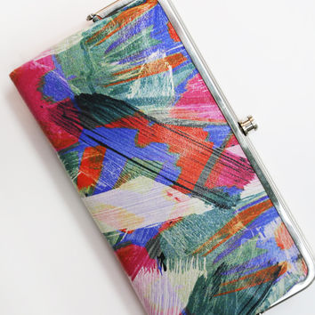 Artist Brush Hobo Wallet