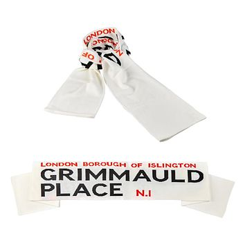 Universal Studios Harry Potter Grimmauld Place Scarf New with Tag