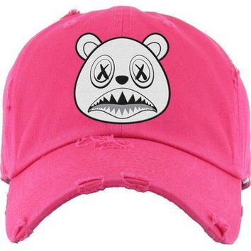 Ghost Baws Hot Pink Dad Hat