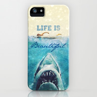Life is Beautiful - for iphone iPhone & iPod Case by Simone Morana Cyla