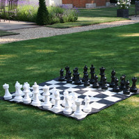 Garden Chess Pieces - Plastic