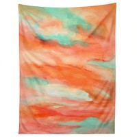 Rosie Brown Sunset Sky Tapestry