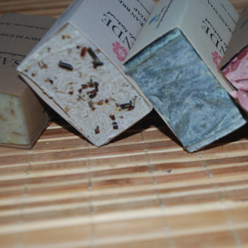 Soap Gift Set - Set of 4 Handmade Soaps - Natural Soap Gift Set