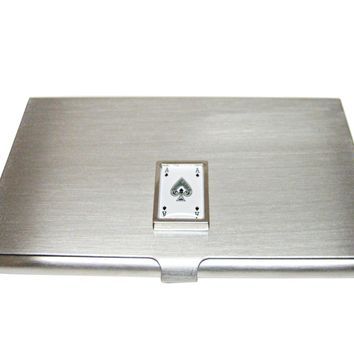 Ace of Spades Business Card Holder