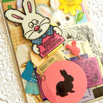 Easter & Spring Ephemera Pack. Vintage Stationery. Embellishment. Scrapbook Ephemera. Journal Supply. Mixed Media. Easter Cards. Spring.