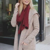 French Countryside Cardigan - Oatmeal