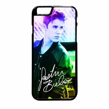 Justin Bieber Rainbow iPhone 6 Plus Case