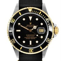 Rolex Submariner 16613 Series Watch, 8/10 Condition - Rolex - Modnique.com