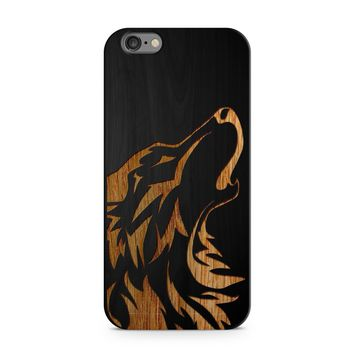 Black Bamboo - Howling Wolf Phone Case