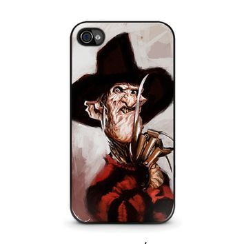 freddy krueger 3 iphone 4 4s case cover  number 1