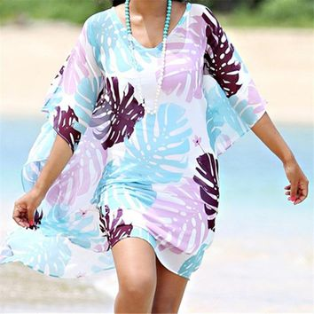 Cover ups Bikini Swimwear Saida de Praia de Renda Bikini Cover up Beachwear Women Beach  Sarong Beach Kaftan Beach Tunic Pareos #Q404 KO_13_1