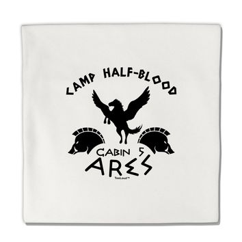 "Camp Half Blood Cabin 5 Ares Micro Fleece 14""x14"" Pillow Sham by TooLoud"