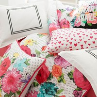 MayBaby Mod Floral Comforter + Sham