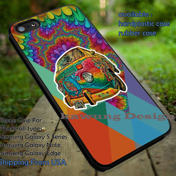 Psychedelic Geometric Colorful Mix Pattern Hipster Car iPhone 6s 6 6s+ 5c 5s Cases Samsung Galaxy s5 s6 Edge+ NOTE 5 4 3 #art dt