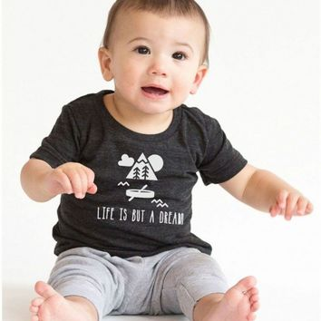Life is But a Dream Infant Tee | CrazyDog TShirts