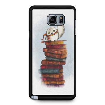 Hedwig Owl Harry Potter Samsung Galaxy Note 5 Case