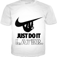 Just do It Later Sloth