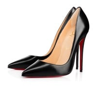 Christian Louboutin Cl So Kate Black Leather 120mm Stiletto Heel 13w