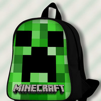 Minecraft Creeper - Custom SchoolBags/Backpack for Kids.