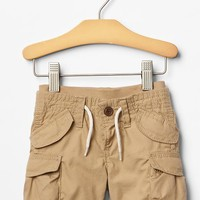 Pull On Cargo Shorts