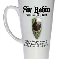 Sir Robin - Monty Python and the Holy Grail Coffee or Tea Mug, Latte Size
