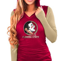 FSU Seminoles Hoodie with Thumb Holes