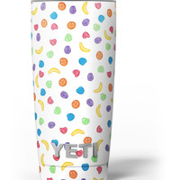 The Colorful Candle Spill Yeti Rambler Skin Kit