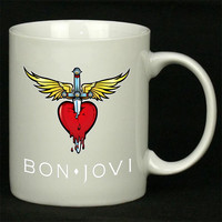 Bon Jovi For Ceramic Mugs Coffee *
