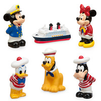 Mickey Mouse and Friends Squeeze Toy Set - Disney Cruise Line | Disney Store