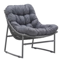 Zuo® Ingonish Beach Chair in Grey