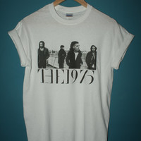 the 1975 band t-shirt * indie rock matt healy sex chocolate vintage * all sizes