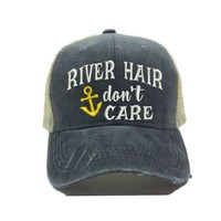 """""""River Hair Don't Care"""" Trucker Hat"""