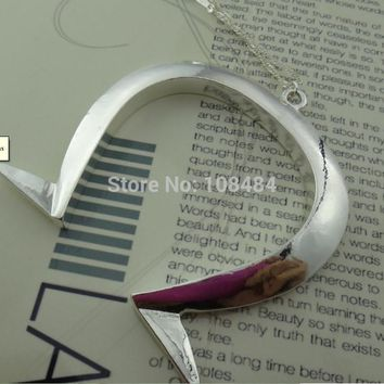Alice Madness Returns Horseshoe Long Chain Necklace High quality Cosplay props Pendant Necklaces N15