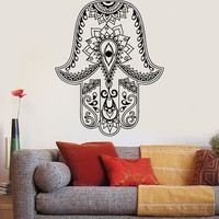 Vinyl Wall Decal God's Hand Hamsa Amulet Judaism Stickers Unique Gift (834ig)