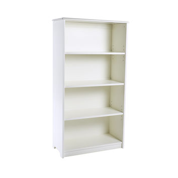 "Guidecraft Classic White 48"" Bookshelf - G85711"