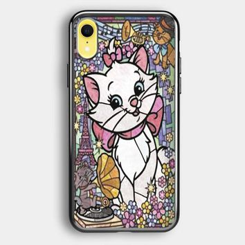 Marie Cat Disney S The Aristocats Stained Glass iPhone XR Case | Casefruits