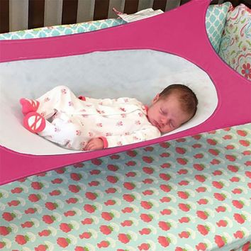 Baby Hammock Detachable Portable Folding Baby Crib