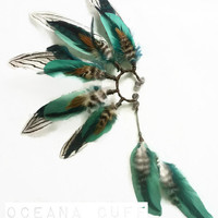 Oceana Feather Ear Cuff