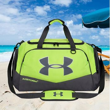 Under Armour Fashion Sport Handbag Tote Crossbody Luggage bag Travel Bag Green