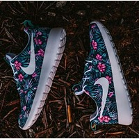 Tagre™ NIKE Trending Fashion Floral Print Casual Sports Shoes