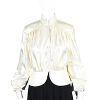 Draped Gold Lamé Jacket, 1970s