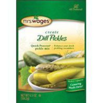 Precision Foods Inc - Mrs. Wages Quick Process Dill Pickle Mix