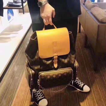 Kuyou Gb2981 M44658 Louis Vuitton Lv Monogram Other Bags All Collections Backpack Trio  45x33x22cm