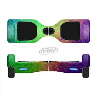 The Vivid Neon Colored Texture Full-Body Skin Set for the Smart Drifting SuperCharged iiRov HoverBoard
