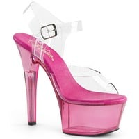 Ankle Strap Sandal With 6 Inch Heels Stripper Shoes